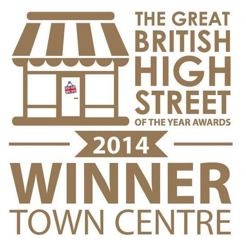 Great British High Street Winner town Centre 2014