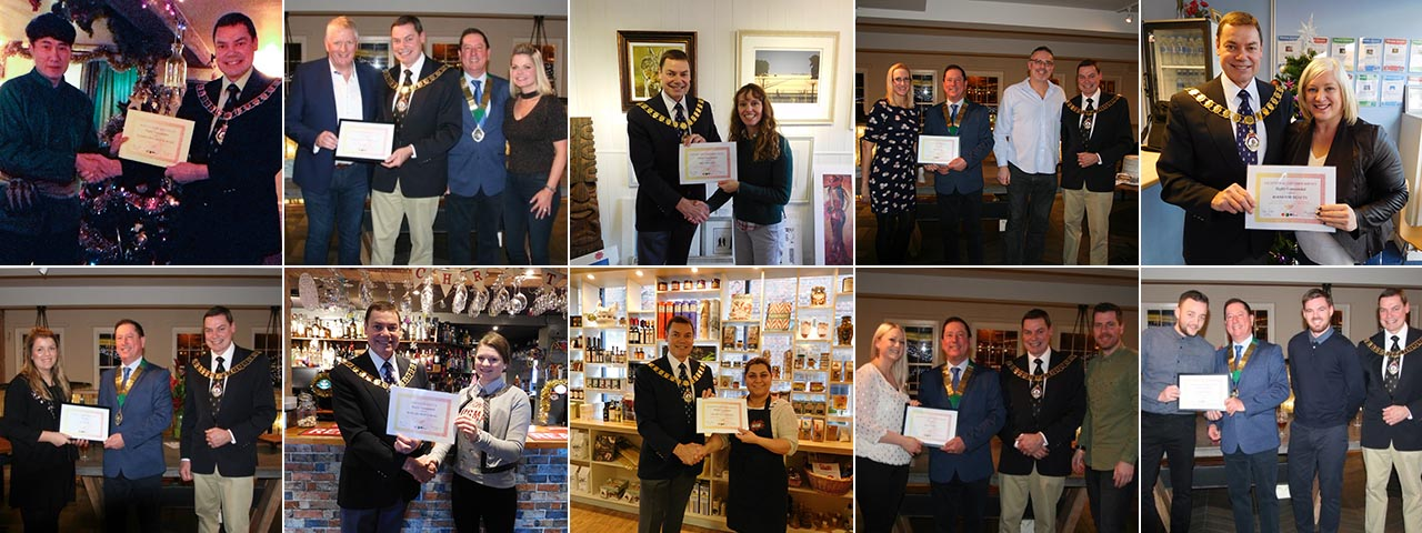 207 Local Business Awards Collage